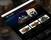 HAD Audiolab Website Design