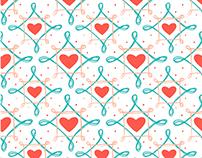 Pattern Design | Padronagem para Lar Maria de Nazaré