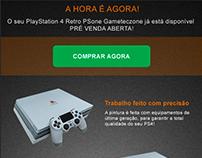 Gameteczone - Newsletter Custom PS4