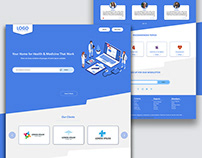 Health Care Website UI-UX Design