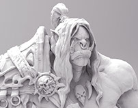 Grom Hellscream 3D Print Design