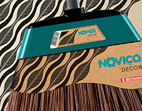 Noviça Decor • Package Design