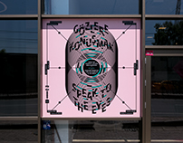 """Speak to the Eyes"" — Exhibition & Posters"