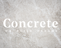 Concrete - Brand Identity