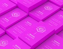 Chezare 03. Business card template [#free]