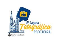 Logo 8ª Caçada Fotográfica Escoteira