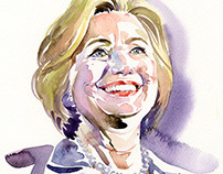 Portrait- Hillary