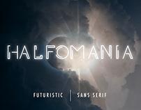 HALFOMANIA - FREE FONT