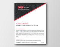 Curriculum Vitae & Resume Design Template