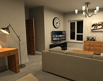 3D street and 3D room by our student Guy Siragher