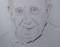 The Pope, by Ana Canas