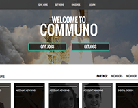 Communo (Web product design)