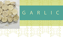 Garlic : Patterns and 3D -Nature Inspired Designs
