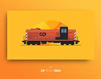 Comboios de Portugal — Locomotive Illustrations
