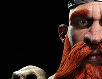 3D Viking full CGI