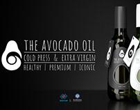 Avocado Oil Glass Packaging Design (Şişecam Project)