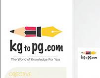 Kg to pg.com logo brand creation