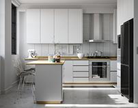Estudo de Cozinha 03