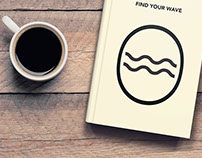 FIND YOUR WAVE – Coffee table Book