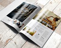 A4 Brochure Magazine Mockup 1