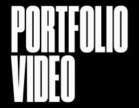 Portfolio video
