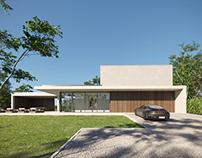Residência VDB /Govaert & Vanhoutte Architects - Render