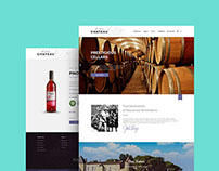 Chateau Wine - Responsive Website Design