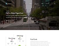 Fuelcard Concept UI Design