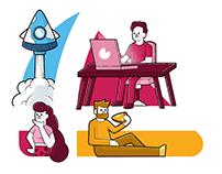 Hack4Pizza | Branding & UX/UI