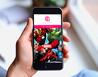 Comics Calendar - Mobile App