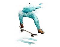 Skater Half Girl