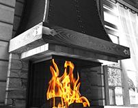 Country fireplace (Alyana)
