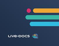Live-Docs — a brand identity