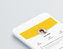 User Profile & Settings