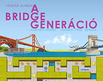 "Book cover for ""The Bridge Generation"""