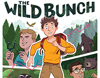 The Wild Bunch Book Cover and Process