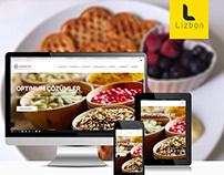 Optimum Gıda Web Sitesi Projesi