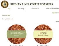 Russian River Roasters Social Media & Website Design