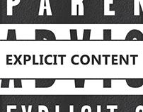 Album Cover - Explicit Content