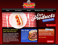 Helmbold's Website Design