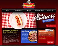 Helmbold's Website Design