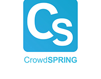 CrowdSpring logo consept