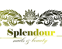 Splendour Nails & Beauty Salon Logo design