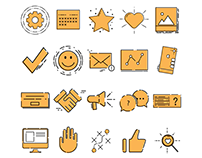 FREE - Marketing Icon Set