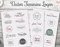 Vector Feminine Logos