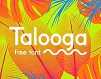 Talooga - FREE DISPLAY FONT