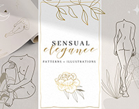 Sensual Elegance Illustrations & Patterns