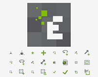 EDEM Solutions - DEM Software Icons