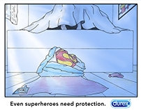 Even Superheroes need protection.