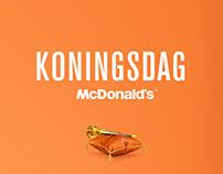 Koningsdag en McDonald's™
